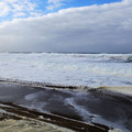 Waves rolling in at Fogarty Creek.- Fogarty Creek State Recreation Site