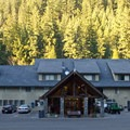 The lodge at Belknap Resort.- Belknap Hot Springs Resort