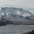 Spirit Lake and Mount St. Helens (8,365') are beautiful and stark reminders of the destruction years ago.- Mount Margaret via Norway Pass