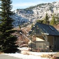 A dual vaulted toilet facility is available at the trailhead.- Mount Margaret via Norway Pass