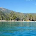 Rubicon Bay, Lake Tahoe.- Lake Tahoe, Rubicon Point to Tahoe City Paddle