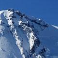 The ridges of Mount Hood's northeast slopes.- Cooper Spur Shelter via Tilly Jane Trail