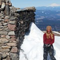 The stone shelter is an excellent landmark and stopping point to enjoy a break.- Cooper Spur Shelter via Tilly Jane Trail
