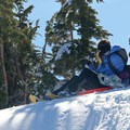 If you're willing to bring a sled along, there are ample opportunities to use it.- Cooper Spur Shelter via Tilly Jane Trail