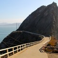 The trail to Point Bonita Lighthouse.- Marin Headlands + Golden Gate Recreation Area