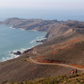 Point Bonita with Rodeo Beach on the right.- Marin Headlands + Golden Gate Recreation Area