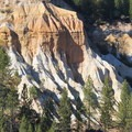 The erosion caused by the monitors exposed sediment resembling a miniature Bryce Canyon.- Malakoff Diggins State Historic Park