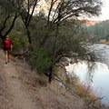 The second leg of the loop returns along the South Yuba River.- Point Defiance Loop Trail