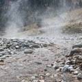 Start near the source and test the temperature of pools as you move toward the river.- Sunbeam Hot Springs