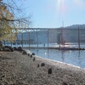 Boat launch and beach at the Sellwood Riverfront Park- Sellwood Riverfront Park
