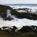 Cooks Chasm.- Thor's Well + Cook's Chasm