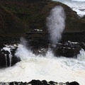 Spouting Horn at Cooks Chasm.- Thor's Well + Cook's Chasm