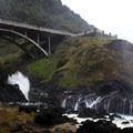 US Hwy 101 over Cooks Chasm.- Thor's Well + Cook's Chasm