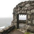 Cape Perpetua: Civilian Conservation Corps shelter.- Cape Perpetua Scenic Area