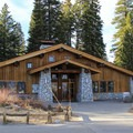 The Glacier Point Hut is open in summer to visitors for food and refreshments. It's also open in winter as a ski-in ski hut accommodation accessible from the Badger Pass Ski Area.- Four Mile Trail to Glacier Point
