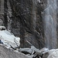 Lower Yosemite Falls.- Lower Yosemite Falls