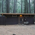 Restrooms in Upper Pines Campground.- Upper Pines Campground