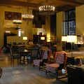 The Great Lounge.- The Ahwahnee Hotel