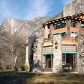 The Ahwahnee's Solarium room is on the south side of the building and offers views to Glacier Point.- The Ahwahnee Hotel