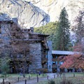 The Ahwahnee's east facade.- The Ahwahnee Hotel