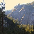 View over Illilouette Gorge.- Vernal Falls Hike via Mist Trail