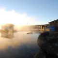 Crystal Crane Hot Springs.- Crystal Crane Hot Springs
