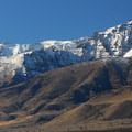 Steens Mountain's south (9,734') and middle summit (9,730').- Mann Lake Recreation Site