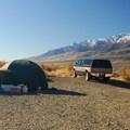 Typical campsite at Mann Lake.- Mann Lake Recreation Site