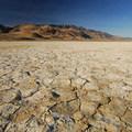 Alvord Desert and Steens Mountain (9,734').- Alvord Desert