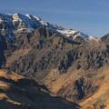 Steens Mountain (9,734') from the Alvord Desert.- Alvord Desert