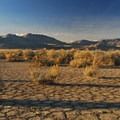 Borax Lake and Hot Springs desert landscape.- Borax Lake + Borax Lake Hot Springs
