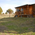 A cabin at Steens Mountain Resort Campground.- Steens Mountain Wilderness Resort Campground