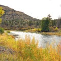 John Day River from Lone Pine Recreation Site.- Lone Pine Recreation Site
