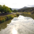 John Day River running through Spray Waterfront Park.- Spray Riverfront Park