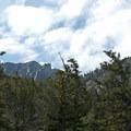 The rocky crags near Wheeler Peak. - Bristlecone Pine Trail