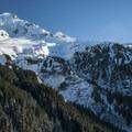 Mount Hood (11,250').- Mount Hood, Sandy Glacier Ice Caves