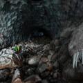 Mount Hood, Sandy Glacier Caves: Brent McGregor explores Pure Imagination.- Mount Hood, Sandy Glacier Ice Caves
