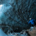 Mount Hood, Sandy Glacier Caves: Brent McGregor explores Pure Imagination.- Mount Hood: Sandy Glacier Ice Caves