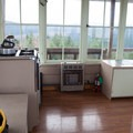 Inside the lookout there is a propane heater to keep you warm at night.- Pickett Butte Fire Lookout
