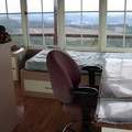 There is one double bed in this lookout.- Pickett Butte Fire Lookout