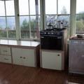 The kitchen.- Pickett Butte Fire Lookout