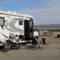 The park is home to a large campground with both beachside and harborside sites.- Doran Regional Park + Doran Beach