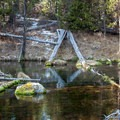 Though humble, this pool is part of the headwaters for the entire river! - Fall River Trail