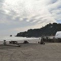 Beachfront campsites at Anchor Bay Campground.- Anchor Bay Campground