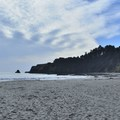 Anchor Bay has a great beach that is frequently sunny and, best of all, often sheltered from the wind!- Anchor Bay Campground