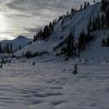 Swift Creek Valley.- Mount Ann