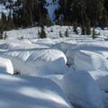 Swift Creek crossing.- Mount Ann