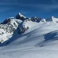 Han Peak (5,681') with Mount Shuksan (9,131') behind.- Mount Ann