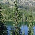 Lake Caroline.- Eightmile Lake + Lake Caroline