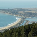 Stinson Beach, Bolinas Mesa and Bolinas Lagoon.- Coastal Trail, Pantoll to W Ridgecrest Blvd